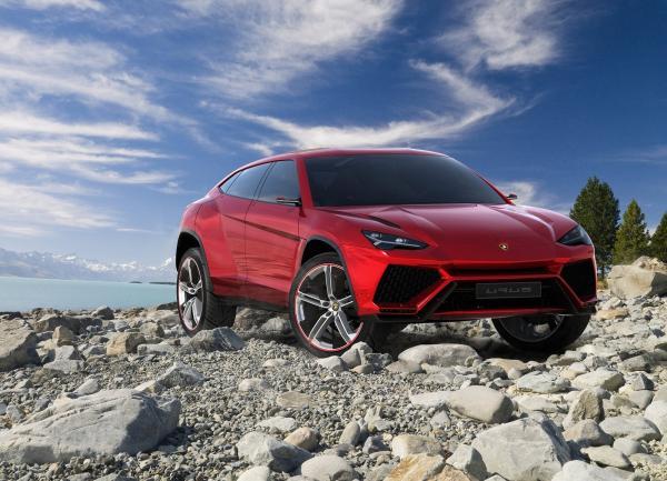 Вседорожник Lamborghini Urus покажут в декабре