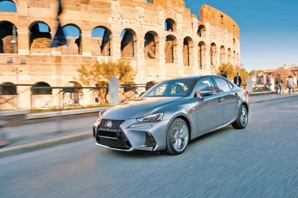 Lexus IS: легкая модернизация