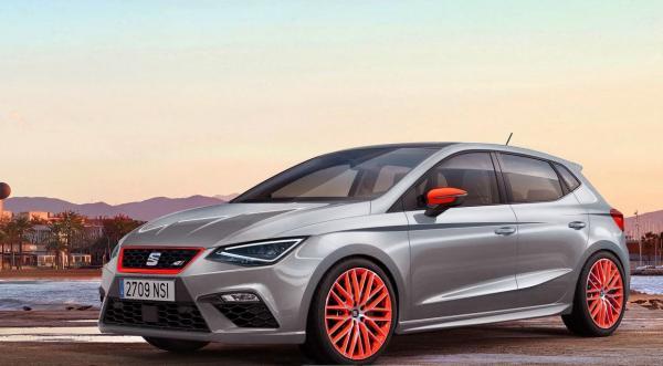 Новый Seat Ibiza Cupra представят в 2018 году