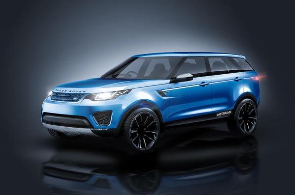 Land Rover готовит вседорожное купе