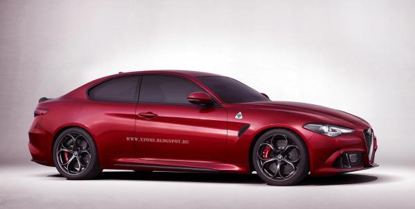 Alfa Romeo Giulia станет купе