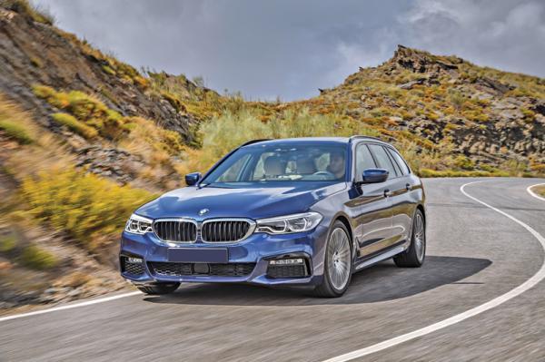 BMW 5 Series Touring: смена поколений
