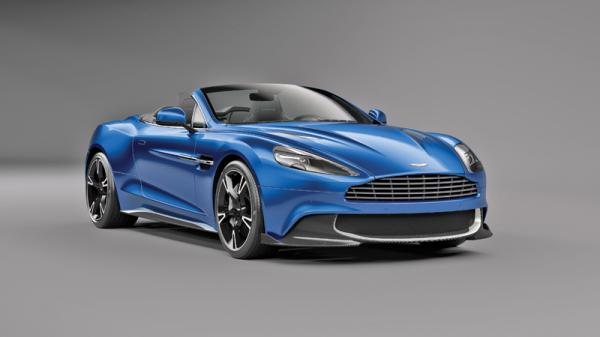 Aston Martin Vanquish S Volante: обновление с прибавкой в мощности