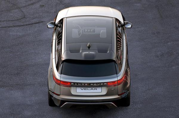 Range Rover Velar рассекречен до премьеры
