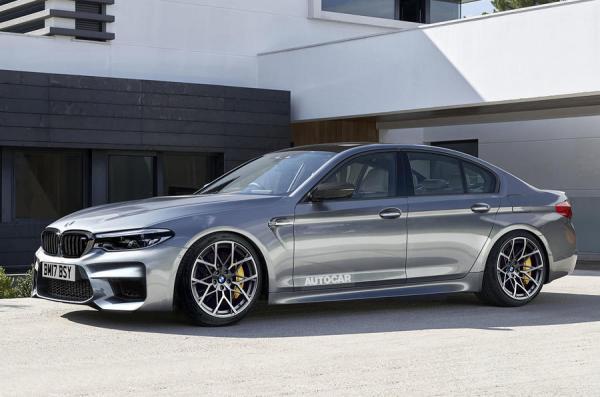 Новый BMW M5 станет полноприводным