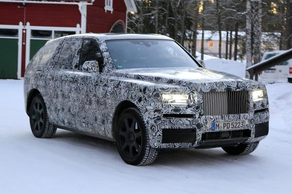 Rolls-Royce Cullinan станет самым дорогим вседорожником в мире