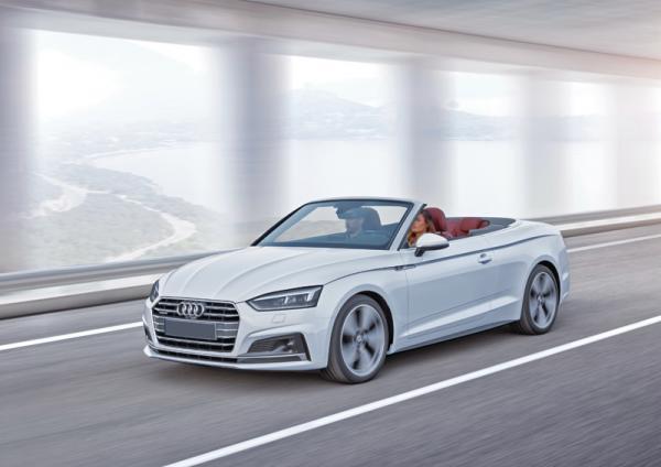 Audi A5 Cabriolet: кабриолет к весне