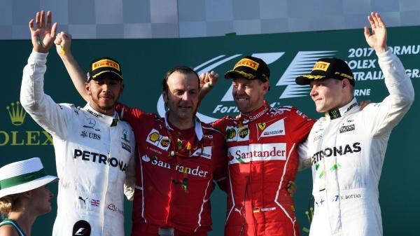 Формула-1: Феттель начинает новый сезон с победы