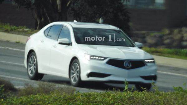 Acura TLX претерпел обновление