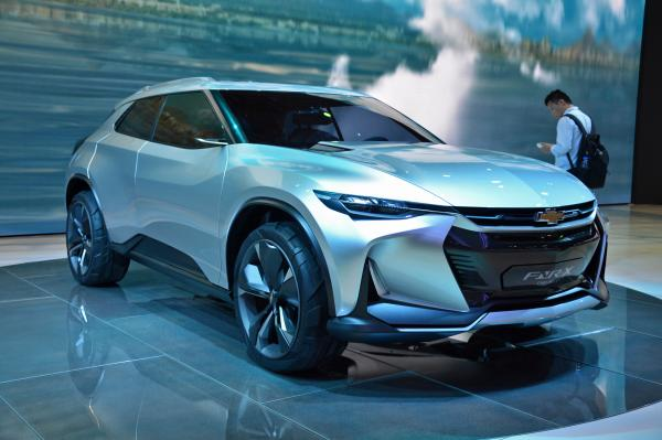 Chevrolet FNR-X презентован в Шанхае