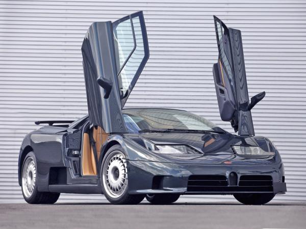Bugatti:  роскошь по-французски