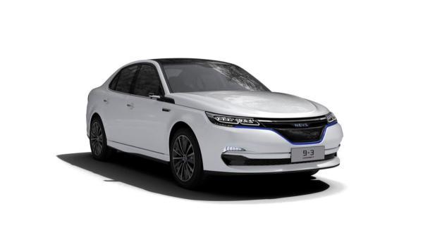 Saab 9-3 возродили в статусе электромобиля