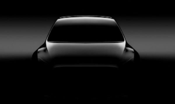 Электромобиль Tesla Model Y частично рассекречен