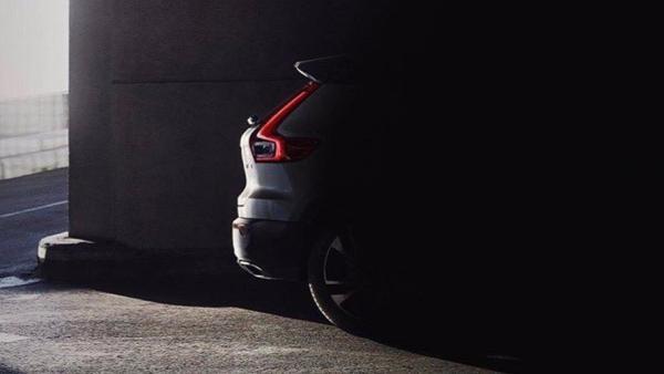 Новый Volvo XC40 частично рассекречен