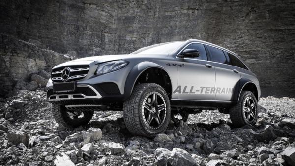Mercedes-Benz E-Class All-Terrain 4X4-2: чудо-универсал