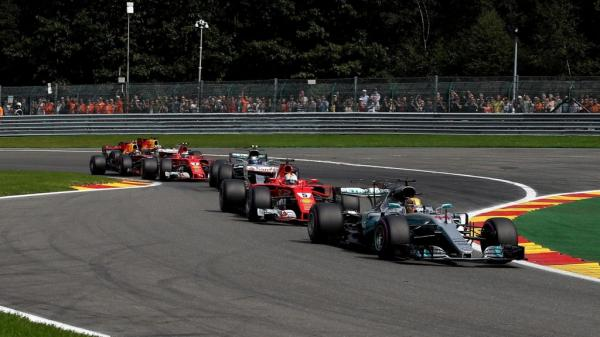 Формула-1: Хэмилтон побеждает в Гран-при Бельгии