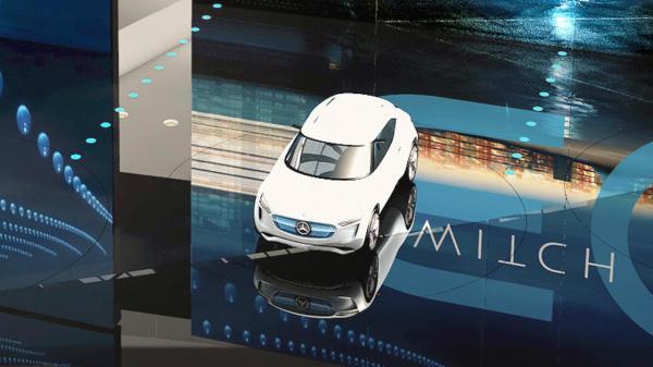 Mercedes-Benz готовит компактный электромобиль