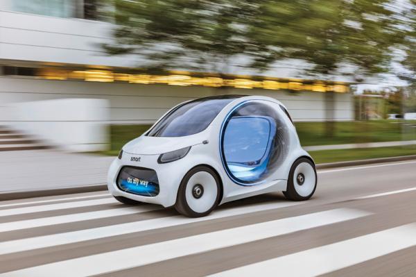 Smart Vision EQ ForTwo заглянул в 2030 год