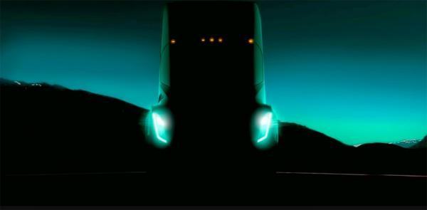 Первый грузовик Tesla представят в октябре