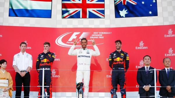 Формула-1: Хэмилтон приблизился к чемпионству после Гран-при Японии