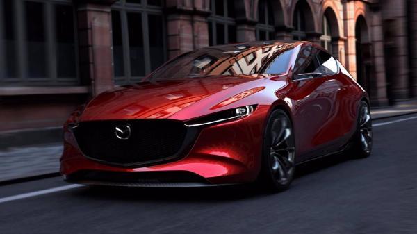 В Токио показали концепт новой Mazda 3