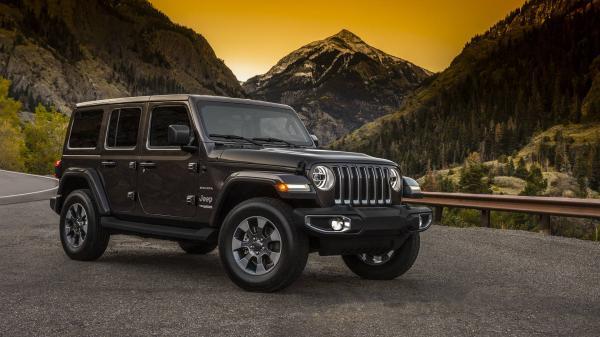 Новый Jeep Wrangler рассекречен