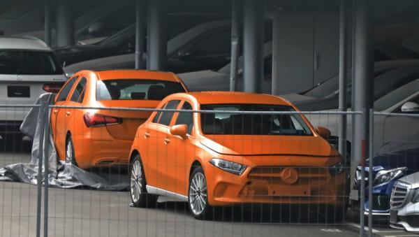 Новый Mercedes-Benz A-Class полностью рассекречен