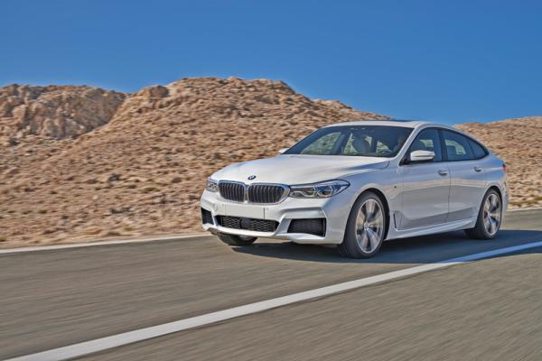 BMW 6 Series Gran Turismo: смена названия