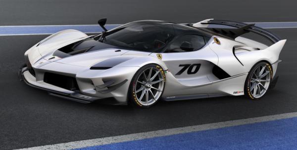 Ferrari FXX K Evo: трековый снаряд
