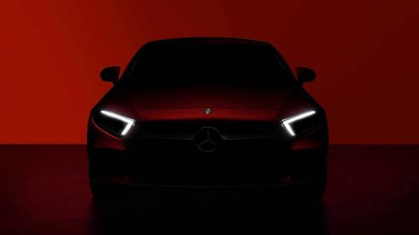 Новый Mercedes-Benz CLS представят в Лос-Анджелесе
