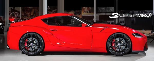 Первые фото Toyota Supra