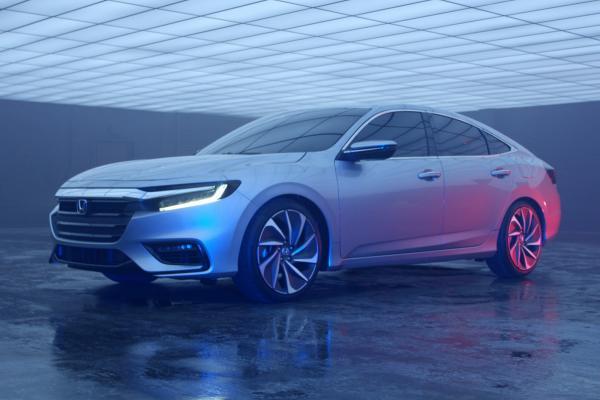 Новый гибрид Honda Insight покажут в Детройте