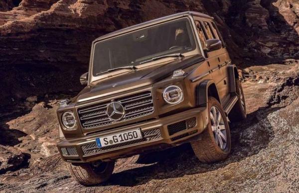 Первые фото Mercedes-Benz G-Class нового поколения