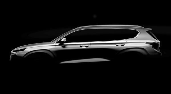 Новый Hyundai Santa Fe представят в феврале