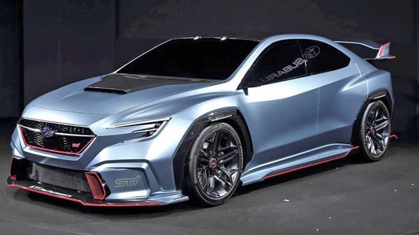 Subaru VIZIV Performance STI: предвестник нового спорт-седана