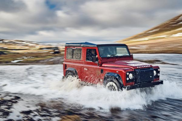 Land Rover Defender Works V8: возвращение
