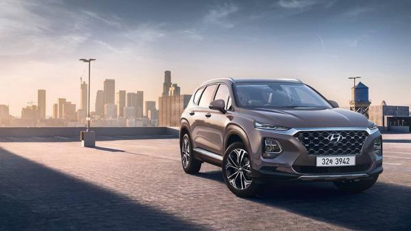 Первые фото Hyundai Santa Fe нового поколения