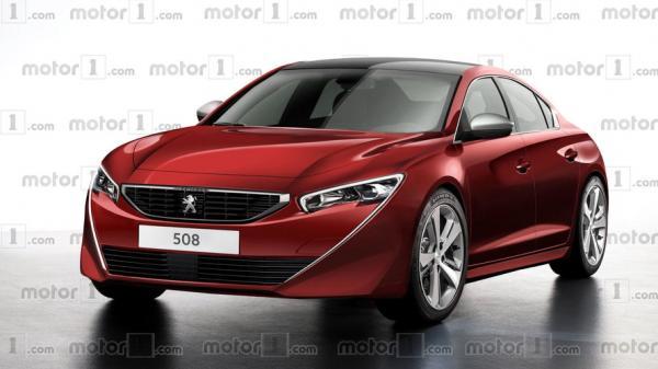 Новый Peugeot 508 дебютирует в Женеве