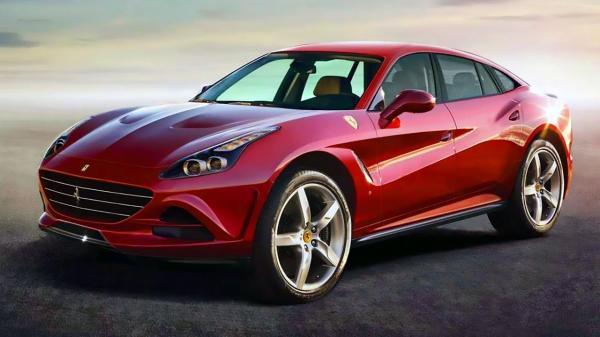 Первый вседорожник Ferrari будет гибридом