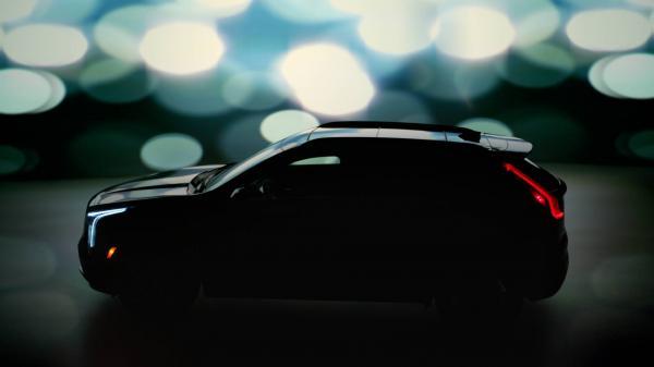 Новый вседорожник Cadillac частично рассекречен