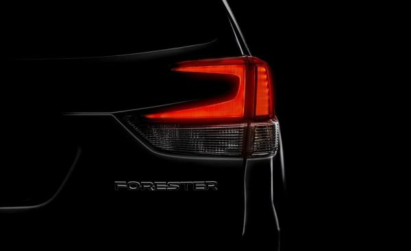 Новый Subaru Forester покажут в Нью-Йорке