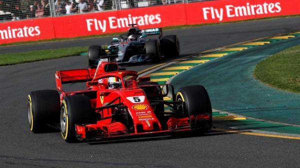 Формула-1: Феттель побеждает в первой гонке сезона