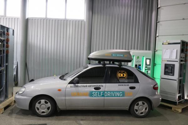 Представлен первый беспилотный автомобиль в Украине