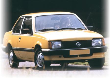 Opel Ascona: первый, второй, третий…