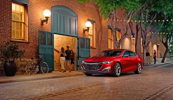 Chevrolet Malibu: модернизация
