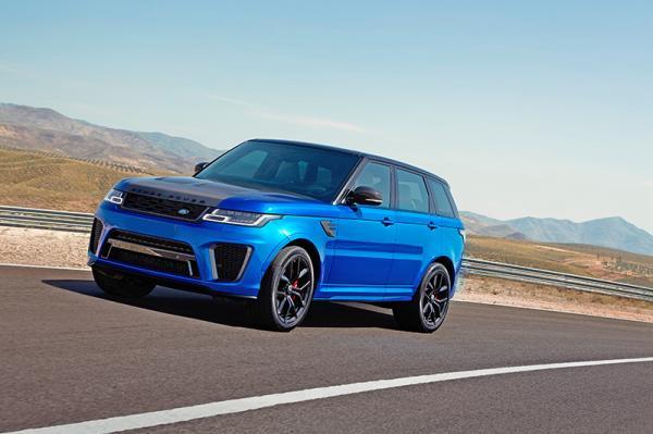 Range Rover Sport SVR: скоростной исполин