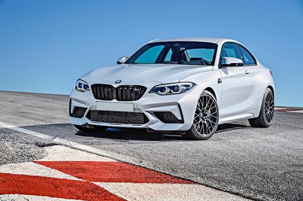 BMW M2 Competition: прибавка в мощности