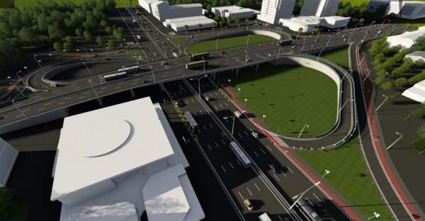 В Киеве начинается реконструкция Шулявского путепровода