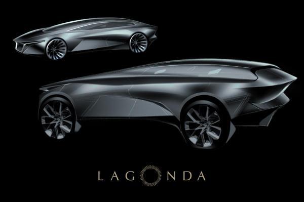 Первые изображения вседорожника Aston Martin Lagonda