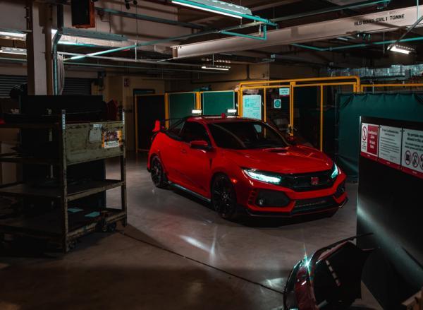 Honda Civic Type R Pickup Truck: самый быстрый в мире пикап